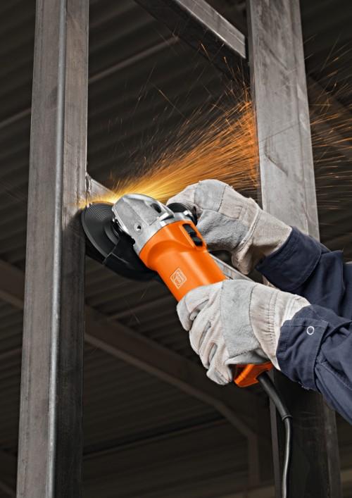 Bei seinen Winkelschleifern setzt Fein voll auf industrielle Qualität und professionelle Leistung.