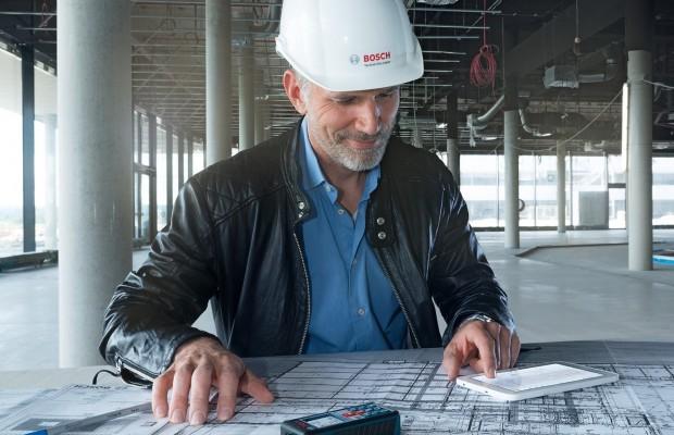 Bosch GLM Floor-Plan-App