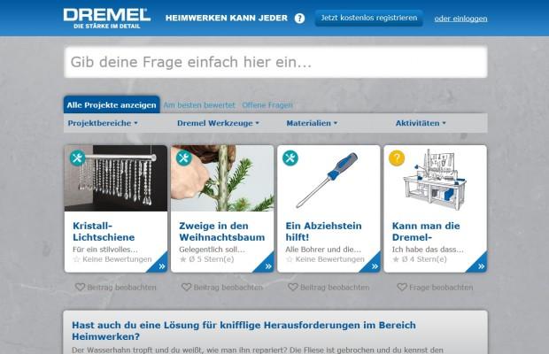 Dremel DIY-Forum Heimwerken kann Jeder