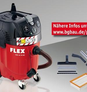 Flex Bausauger Klasse M, förderwürdig durch Prämien der BG-Bau