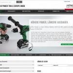 Website im neuen Design