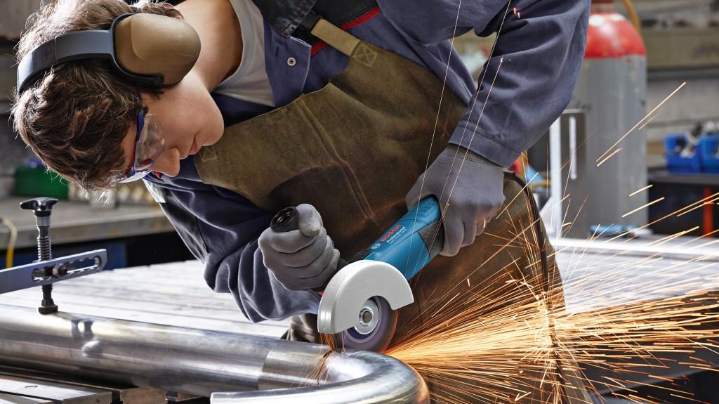 Kleine Bosch Winkelschleifer Bosch GWS