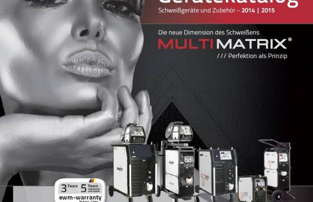 Katalog von EWM für 2015