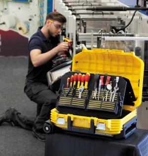 Stanley-Werkzeugkoffer Technikerkoffer Stanley
