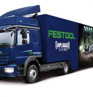 Unplugged Tour von Festool