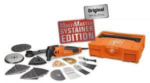 Die Systainer-Edition des Multimasters enthält 41 Zubehörteile.