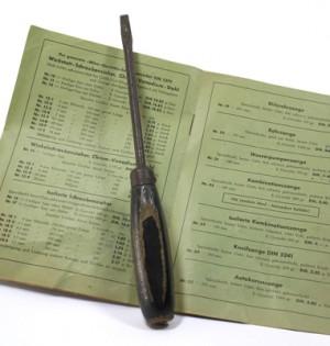 Das älteste Wiha-Werkzeug ist gefunden.
