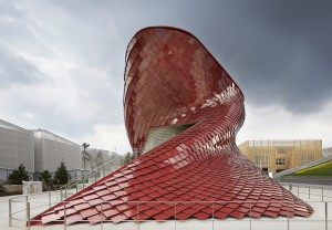 Pavillon auf der Expo