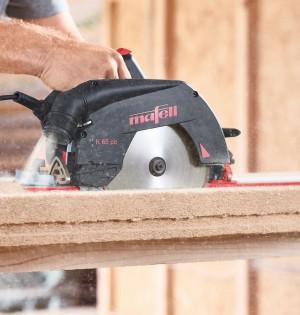 MAFELL K 65 cc Längsschnitt Holzfaserplatte
