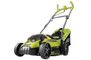 Wendiger, kompakter 18 Volt-Akku-Rasenmäher für bis zu 250 Quadratmeter.