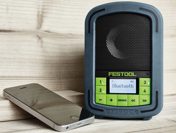 Festool Sysrock Baustellenradio Bluetooth