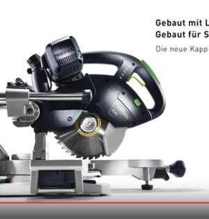 Festool Kapex KS 60 Kapp-Zugsäge