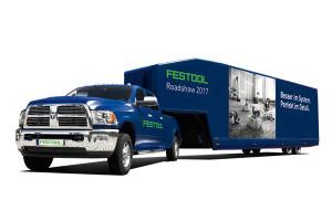 Im Außenbereich stellt Festool auf dem Stand 89 mit dem Holzbau-Truck sein komplettes Sortiment für den Holzbau vor.