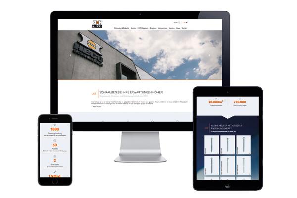 HECO Relaunch Website Responsive