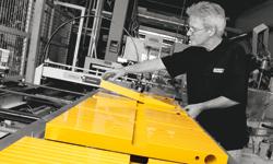 Die verlässliche Produktqualität und -genauigkeit resultieren aus einer hohen Fertigungstiefe und anspruchsvollen Materialwirtschaft.
