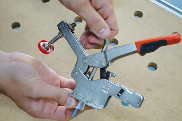 BESSEY-3c-Adapter-mit-Schnellspanner-verbinden