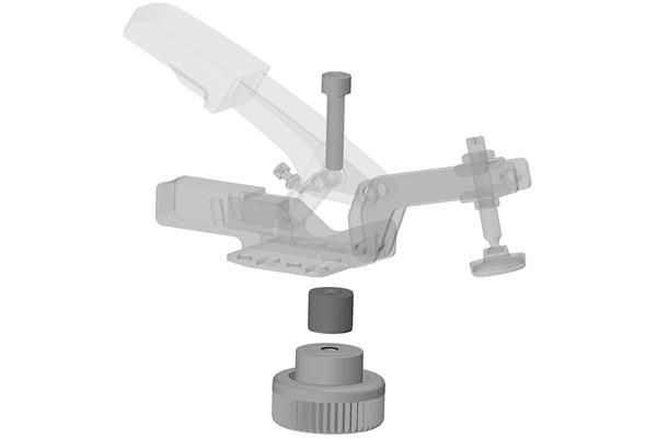 BESSEY-4-Adapter-mit-Schnellspanner-Explosionszeichung