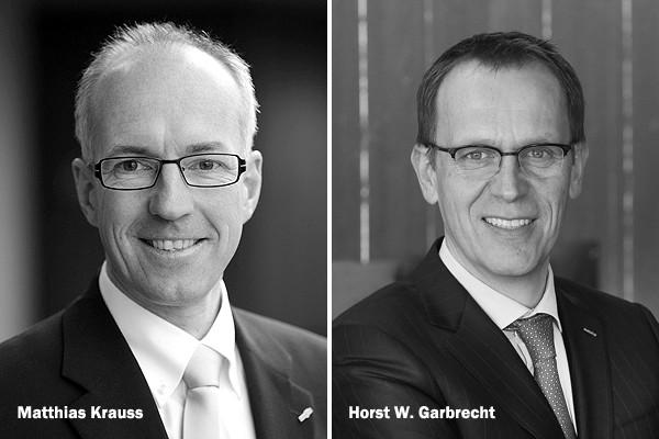 ZVEI-Vorsitzende Matthias Krauss, Horst W. Garbrecht