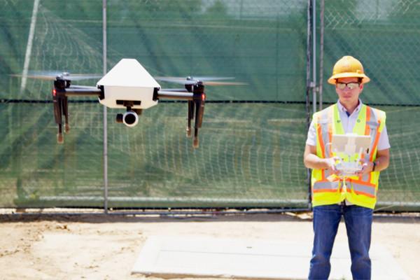 Einfache und präzise Anwendung der Drohnen