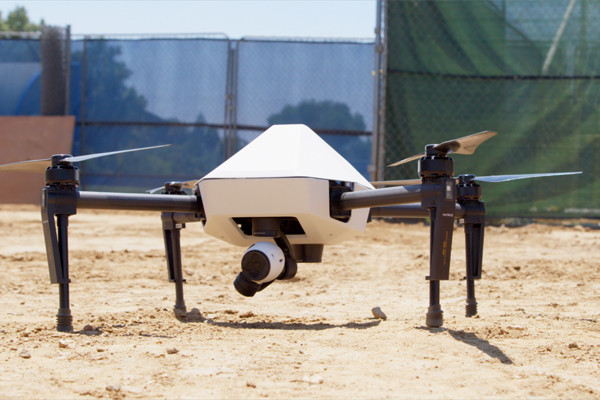 "Die Drohne ""Explore1"" ist abflugbereit"