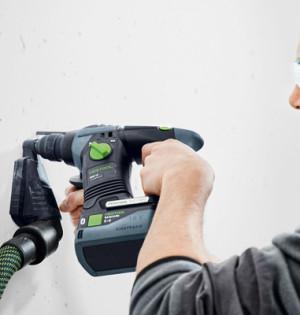 Die Bluetooth-Akkupacks BP 18 Li 5,2 ASI und BP 18 Li 6,2 ASI kommunizieren mit dem Bluetooth-Modul am Saugschlauch