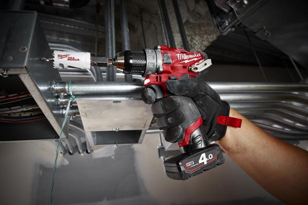 Besonderes Merkmal der M12-Serie: Mit Produkten wie einem Akku-Tacker werden neben Standard-Werkzeugen auch gewerkespezifische Problemlöser angeboten