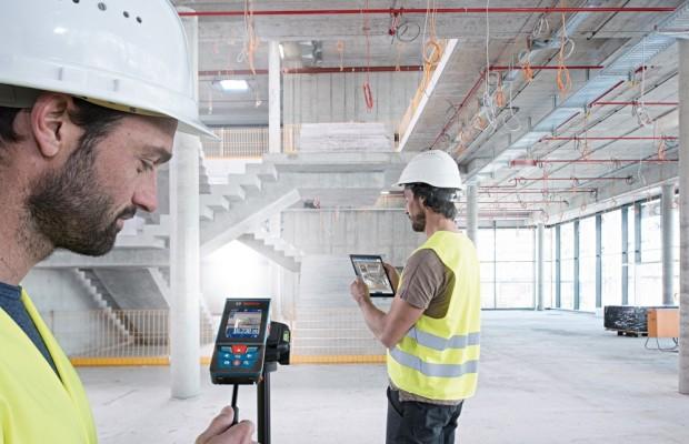 Bosch Laser-Entfernungsmesser mit Kamera