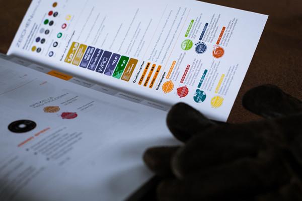 Hilfestellungen und Verzeichnisse, sowie Zeichenerklärungen und Schnellfinder-System helfen dem Leser bei der Produktsuche.