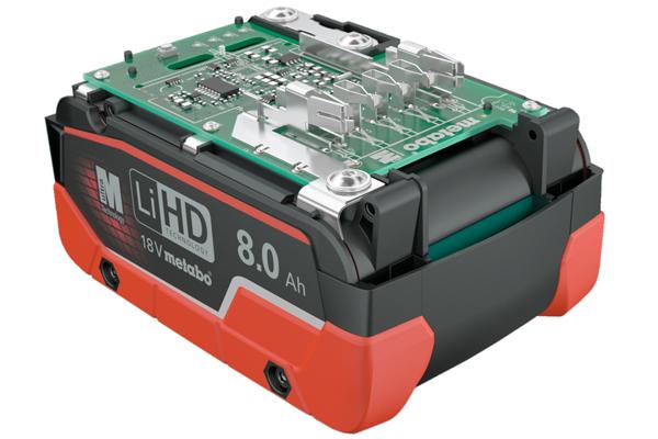 Basis des herstellerübergreifenden CAS-Akku-Systems ist der LiHD-Akkupack von Metabo.