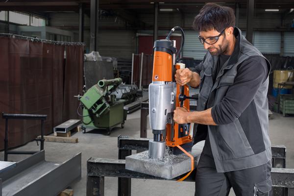 Magnetbohrmaschine bis 110 Millimeter