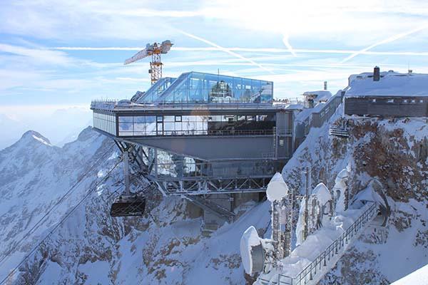 Zugspitze – Bergstation