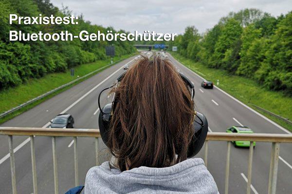 Gehörschutz mit Bluetooth