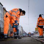 Bosch Vier-Schneiden-Hammerbohrer bewährt sich im Gleisbau