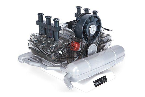 Porsche 6-Zylinder Boxermotor Modell
