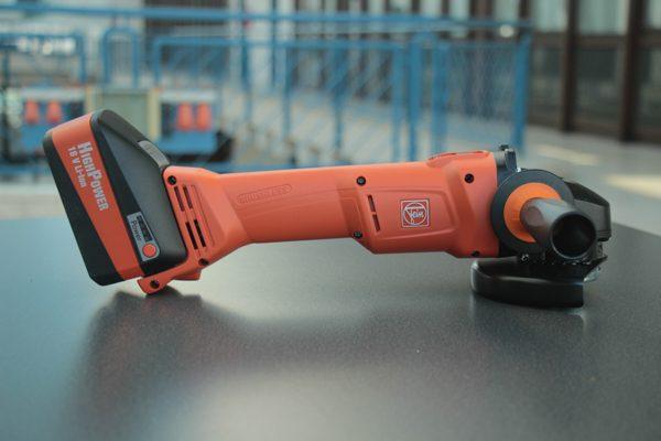 Der Fein Akku-Winkelschleifer CCG 18-125 BL Select