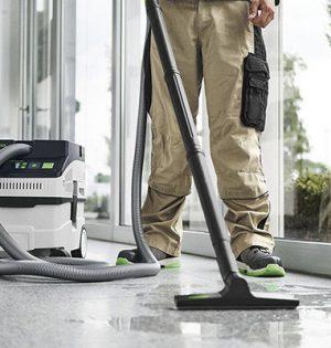 Der CT 15 - zur Reinigung der Baustellen, Werkstätten, Büros und Fahrzeugen