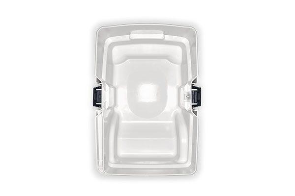 Behälter-/Filtersackvolumen von 15 Liter