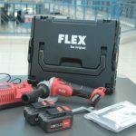 Test: Flex Akku-Winkelschleifer