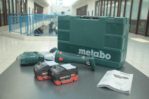 Lieferumfang Metabo Akku-Winkelschleifer WB 18 LTX BL 125 Quick