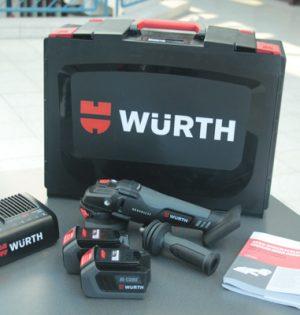Würth Akku-Winkelschleifer AWS 18-125 P Compact