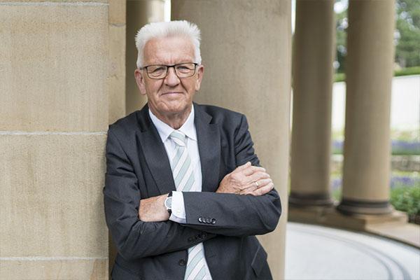 Schirmherr Winfried Kretschmann