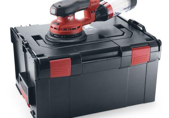 Leistungsstarker Exzenterschleifer ORE 3-150 EC Set
