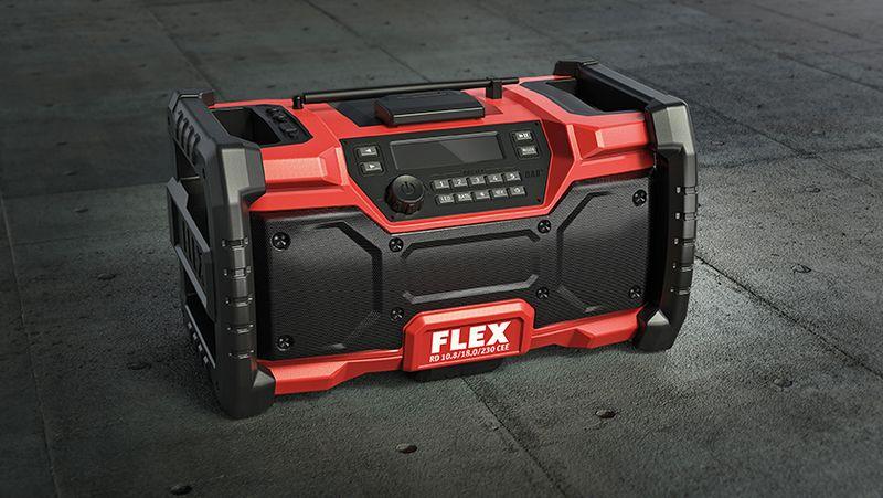 Flex Baustellenradio RD 10.8/18.0/230