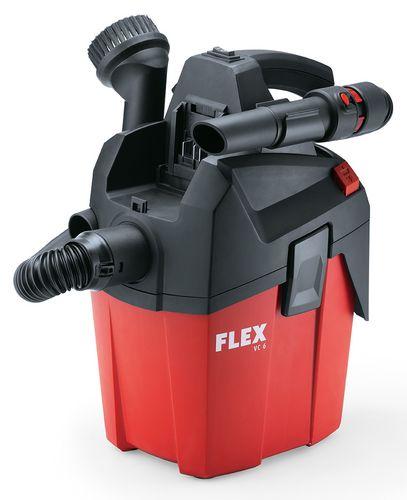 Holz-Handwerk: Flex ist mit dem Absaubmobil vor Ort