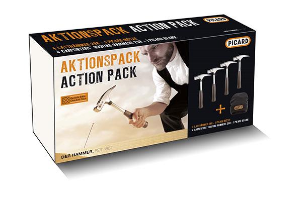 Aktionspack Latthammer-Mütze