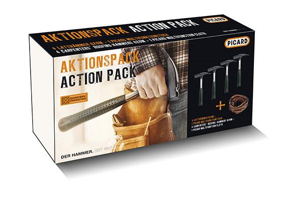 Aktionspack Latthammer-Tuch