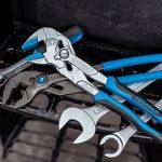 Zangenschlüssel mit Schonbacken