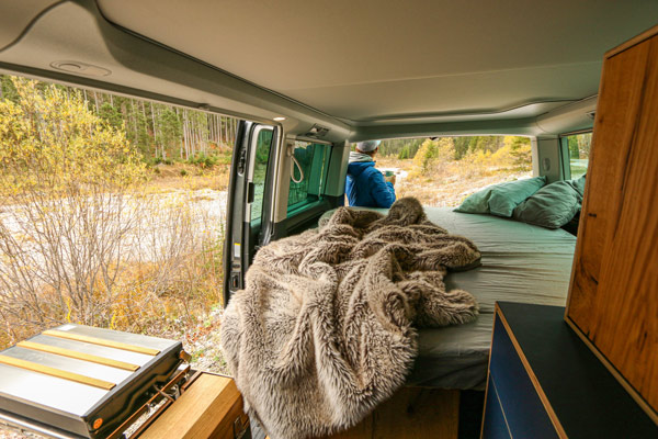 schlafen babum camper