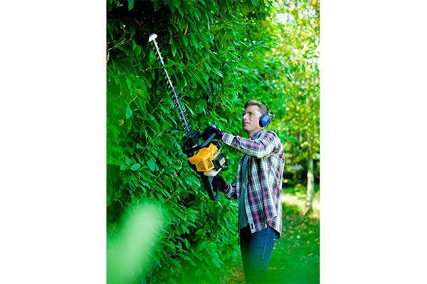Gartengeräte im Einsatz