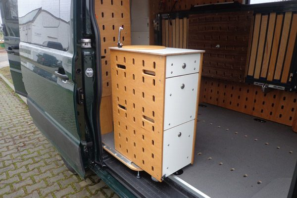 CargoClips Küche